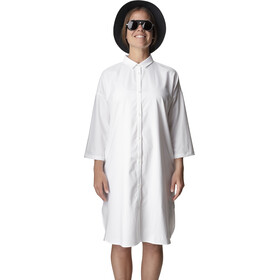 Houdini Route Shirt Dress Women powderday white